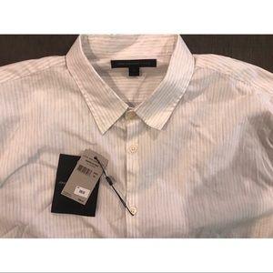 John Varvatos collared shirt